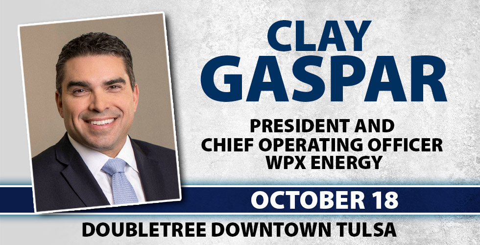 OK Ethics Tulsa Chapter Presents Clay Gaspar WPX Energy, October 18