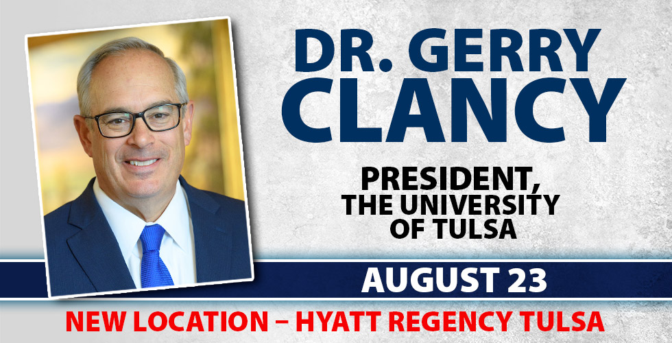 Dr Gerry Glancy, OK Ethics Tulsa Chapter, August 23rd