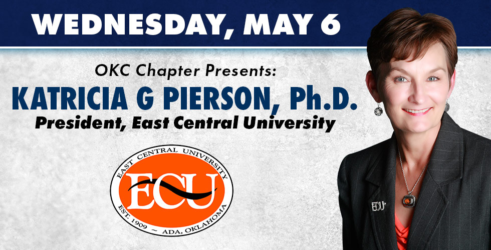 OKC Chapter Presents Katricia G Pierson, Ph D on May 6th